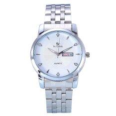 Harga Saint Costie Jam Tangan Wanita Body Silver White Dial Stainless Steel Band Sc Rt 5126L Sw Asli Saint Costie