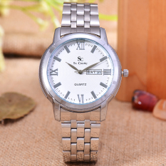Saint Costie Jam Tangan Wanita Body Silver White Dial Stainless Steel Band Sc Rt 8006L T H Sw Pnp Diskon Indonesia