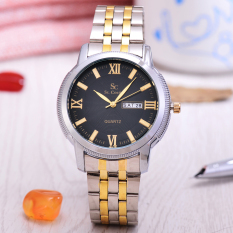 Rp 91.500. Saint Costie Original Brand - Jam Tangan Pria - Body Silver/Gold - Black Dial - Stainless Steel ...