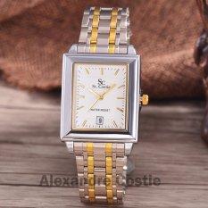 Rp 95.500. Saint Costie Original Brand, Jam Tangan Pria - Body Silver/Gold – White Dial - Stainless ...