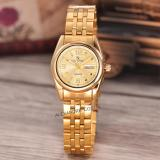 Saint Costie Original Brand Jam Tangan Wanita Body Gold Gold Dial Stainless Stell Band Sc Rt 5236A L Gg Th Murah