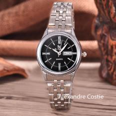 Tips Beli Saint Costie Original Brand Jam Tangan Wanita Body Silver Black Dial Stainless Steel Band Sc Rt 8023A L T H Sb Pnp