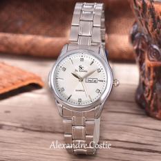 Jual Saint Costie Original Brand Jam Tangan Wanita Body Silver White Dial Stainless Steel Band Sc Rt 8030 L T H Sw Pnp Antik