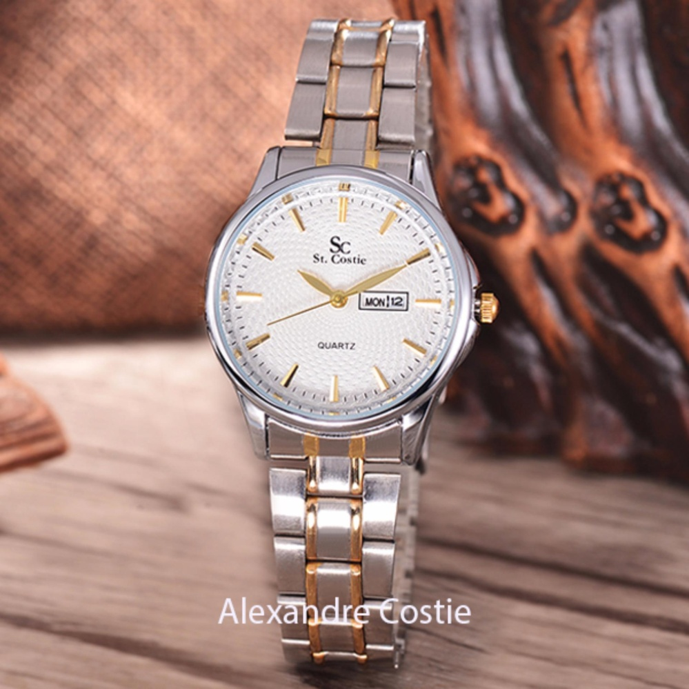 ... Dial - Stainless Stell Band. Source · Harga preferensial Saint Costie Original Brand, Jam Tangan Wanita - Body Silver/Gold -