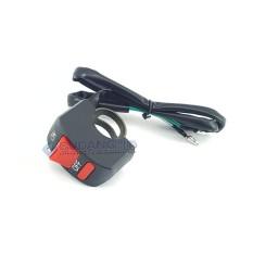 Saklar Lampu Stang Sepeda Motor ON OFF Universal Motorcycle Switch