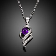 [Penjualan Di Breakdown Harga] Maya Diskon Besar 925 Perak Berlapis Kalung Merek Baru Desain Liontin Kalung Perhiasan untuk wanita-Internasional