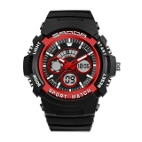 Spesifikasi Sanda 138 Outdoor Sports Double Display Waterproof Shockproof Watch Intl Baru