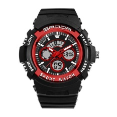 Dimana Beli Sanda 138 Outdoor Sports Double Display Waterproof Shockproof Watch Intl Sanda