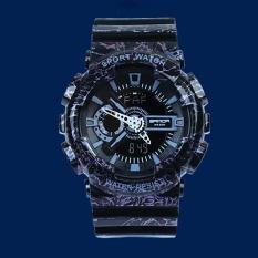Jual Sanda Merek Watch 29901 Pria Tahan Terhadap Udara Kamuflase Pasukan Militer Fashion Dipimpin Olahraga Digital Jam Tangan Bermutu Otomatis Satu Set