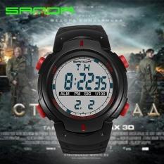 Beli Sanda Merek Watch Fashion Pria Olahraga Jam Tangan Tahan Air Outdoor Menyenangkan Digital Watch Renang Menyelam Arloji Reloj Hombre Montre Homme 269 Intl Lengkap