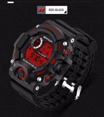 Spesifikasi Sanda Watch 326 Pria Militer Olahraga Jam Tangan Digital Led Elektronik Pria Jam Tangan Relogio Masculino Intl Yg Baik
