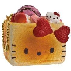 Beli Sanrio Gantungan Kunci Hello Kitty Squishy Seri Lovely Sweets Brick Toast Stroberi Sanrio Dengan Harga Terjangkau