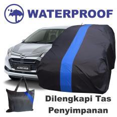 COD - Sarung Bodi Mobil Daihatsu Sigra Calya Cover Body Waterproof Anti Air Selimut Penutup Pelindung Biru