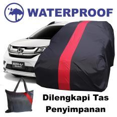 Sarung Bodi Mobil Honda BRV Cover Body BR-V Waterproof Penutup Anti Air Pelindung Selimut Merah