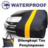 Diskon Sarung Bodi Mobil Honda Jazz Cover Body Selimut Anti Air Pelindung Penutup Waterproof Kuning Branded
