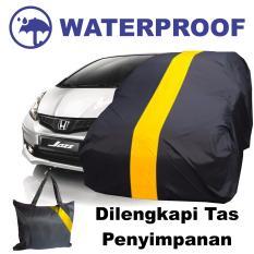 Sarung Bodi Mobil Honda Jazz Cover Body Selimut Anti Air Pelindung Penutup Waterproof Kuning