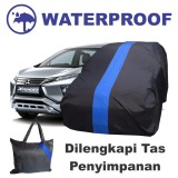Promo Sarung Bodi Mobil Xpander Cover Body Waterproof Selimut Penutup Pelindung Anti Air Biru Coverban Com