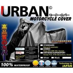 Sarung Cover Motor Urban Big Jumbo Size Anti Air UV Ninja 250 vixion byson CB150R TIGER MEGA PRO VERZA SCORPIO Nmax AEROX