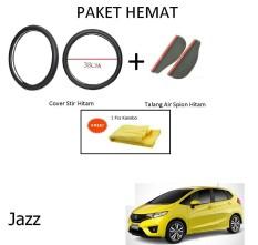 Sarung / Cover Stir / Setir / Steer Mobil All New Triton Warna Hitam + Talang