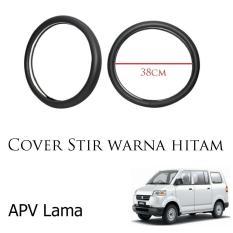 Sarung / Cover Stir / Setir / Steer Mobil APV  Warna Hitam