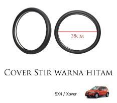 Sarung / Cover Stir / Setir / Steer Mobil SX4 / XOVER Warna Hitam