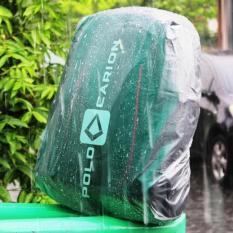 Sarung Jas Hujan Cover Bag Tas Ransel Anti Air Waterproof