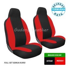 Sarung Jok Mobil BRIO / Full Set 2 Baris  - OSCAR