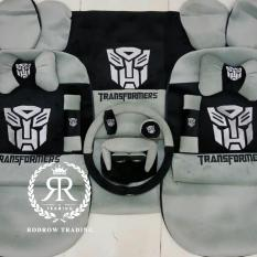 Sarung Jok Mobil Transformer 18 in 1/ Bantal Mobil Transformer Set 18 in 1