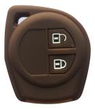 Beli Sarung Kunci Silikon For Suzuki Swift Coklat
