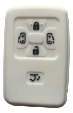 Cuci Gudang Sarung Kunci Silikon For Toyota Alphard Putih