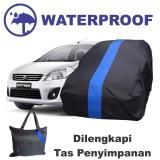 Jual Sarung Mobil Ertiga Cover Body Waterproof Penutup Pelindung Selimut Biru Import