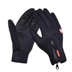 Sarung Tangan Motor Resleting Windstopper Motorcycle Gloves Zipper Random Size