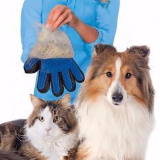 Beli Sarung Tangan Pemijat Perapi Bulu Hewan Anjing Kucing Banten