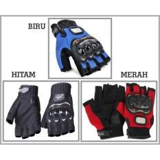 Jual Sarung Tangan Probiker Pro Biker Setengah Jari Pro Biker