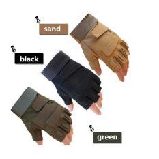 Review Pada Sarung Tangan Rider Tactical Combat Blackhawk Half Finger