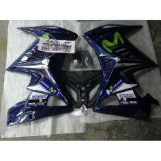 SAYAP FAIRING NEW VIXION TRANSFORMER MOVISTAR BLUE