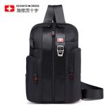 Jual Schwyz Cross 81426 Unisex Model Santai Perjalanan Bisnis Kolam Satu Casing Bahu Hitam Swissgear Asli