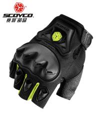 Scoyco Sarung Tangan Sarung Tangan Motor Pria dan Wanita Setengah Jari Musim Panas
