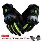 Harga Scoyco Sarung Tangan Mc 29D Full 02 Hitam Gratis Sarung Tangan Woll Satu Set