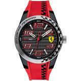 Jual Scuderia Ferrari 0830338 Redrev T Jam Tangan Pria Bahan Tali Rubber Merah Ferrari Murah
