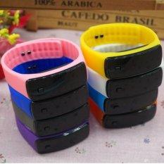 Generasi Kedua Jual Fashion Sunglasses Silicone LED Gelang Jelly Watch Pria dan Wanita Mahasiswa Kreatif-Intl