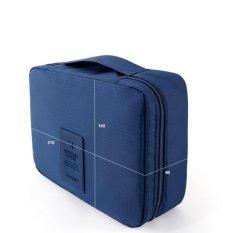 Generasi Kedua Tas Cuci Tas Penyimpanan Kosmetik Paket Multi-Fungsional Perjalanan-Intl