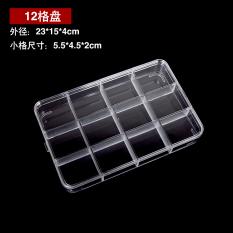 Harga Sederhana Plastik Transparan Akrilik Perhiasan Penyimpanan Kotak Kotak Perhiasan Baru Murah