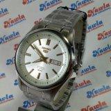 Seiko 5 Automatic Snkn87K1 Full Silver Jam Pria Snkn87 Promo Beli 1 Gratis 1