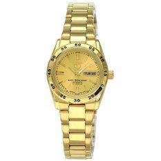 Seiko 5 Jam Tangan Wanita - Gold - Strap Stainless Steel - SYMG44K1