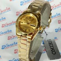 Berapa Harga Seiko 5 Ladies Symg44K1 Automatic Gold Coating Bracelet Jam Wanita Symg44 Seiko Di Jawa Timur