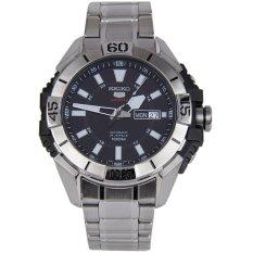 Spesifikasi Seiko 5 Sports Automatic 24 Jewels Jam Tangan Pria Srp793K1 Stainless Steel Silver Terbaik