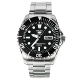 Harga Seiko 5 Sports Snzf17K1 Sea Urchin Automatic 23J Black Dial Stainless Steel 100M Termurah