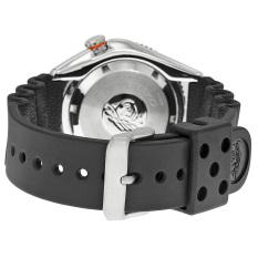 Seiko Automatic Divers Jam Tangan Pria Srp497K1 Rubber Black Seiko Diskon 40