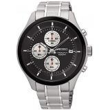 Review Seiko Chronograph Jam Tangan Pria Silver Stainless Steel 54S Seiko